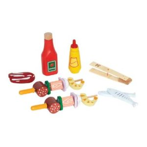 Hape houten shish kebab set