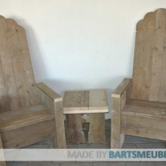 Steigerhouten set King