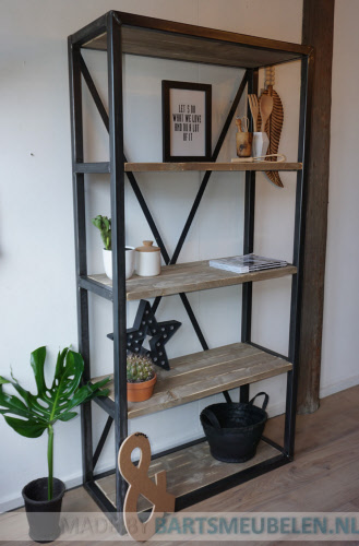 interesting best stalen boekenkast trend ideas with stalen kast met hout