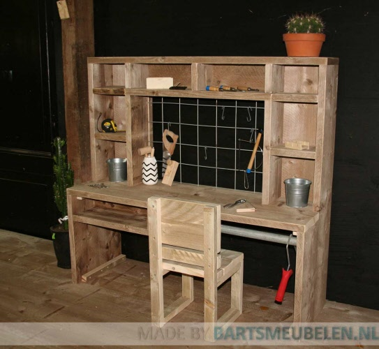 houten werkbank kinderen uf14 belbin info. Black Bedroom Furniture Sets. Home Design Ideas